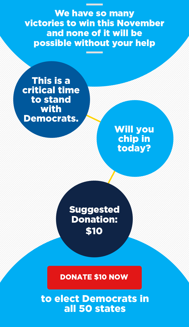 Let's turn this map blue. Contribute before Saturday's FEC deadline.