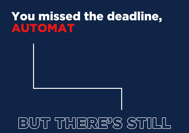 At this moment, we're still short of our GOTV goal