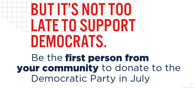 Donate now before midnight's critical FEC deadline: